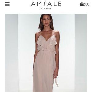 Nouvelle Amsale Chiffon Gown